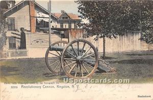 Revolutionary Cannon Kingston NY 1907