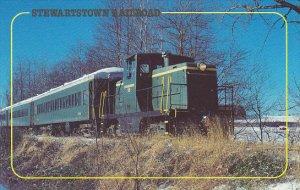 Stewartstown Railroad Unit Number 10 General Electric 44 Ton Locomotive
