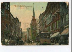 3058885 USA Old South Church Boston Mass Vintage PC