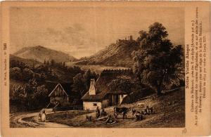 CPA AK Notre-Vieille Alsace - Chateaude Hohnack pres de TROIS-ÉPIS (366432)