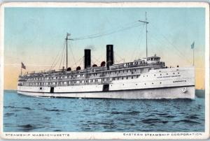 Steamship Massachusetts, Eastern Steamship Corporation D3
