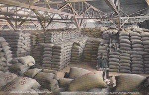 PORTLAND , Oregon , 00-10s ; Wheat in a warehouse