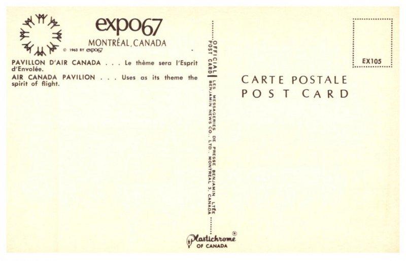 Canada  Montreal  Expo 67  Air Canada   Pavilion