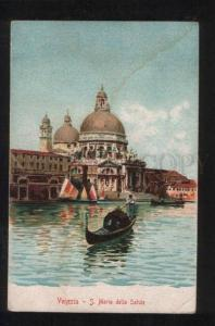058503 ITALY Venezia S.Maria della Salute Vintage lithograph