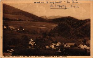 CPA   Sappey (isére) -Alt 1000m -Au fond, l'Emeindras et le Bec Charvet (434014)
