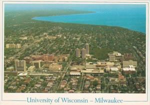 Wisconsin Milwaukee Aerial View University Of Wisconsin