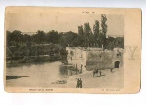 233053 SYRIA ALEP Mill on Koueik Vintage Thevenet postcard