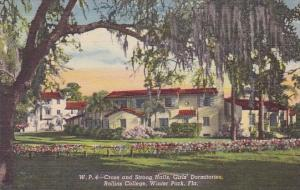 Florida Winter Park Cross And Strong Halls Girls Dormitories Rollins College