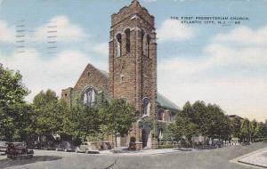 The First Presbyterian Church, Atlantic City, New Jersey, PU-1955