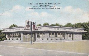 Alabama Birmingham Lou-Jac Drive-In Restaurant sk4380