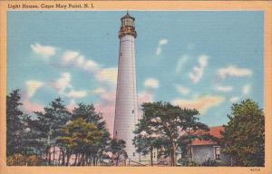 Lighthouse Cape May New Jersey