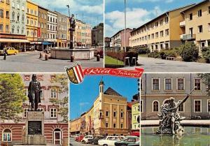 Ried im Innkreis, Dietmar-Anhanger-Brunnen, Kaufmaennische Gewerbe, Denkmal