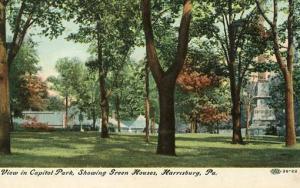 PA - Harrisburg. Capitol Park, Green Houses