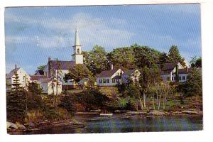 Village of Old Mill Cove, Boothbay, Maine,