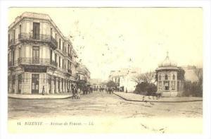 Bizerte.- Avenue de France , Tunisia, PU-1924