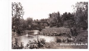 RP; Bridges, Crescent Park, MOOSE JAW , Saskatchewan, Canada , 30-40s