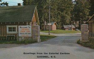 QUESNEL , B.C. , Canada ,1950-60s ; Cariboo Cabin Camp