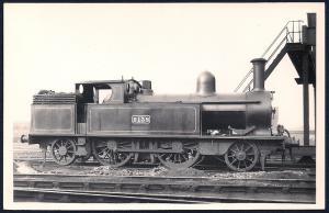 LONDON NORTHWESTERN Railroad Locomotive #2138 RPPC unused