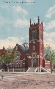 Nebraska Kearney First Methodist Episcopal Church 1916