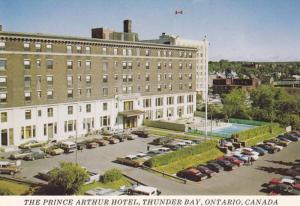 Exterior, The Prince Arthur Hotel,  Thunder Bay,  Ontario,  Canada,   50-70s