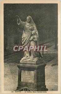 Old Postcard Nantes Good mother Saint Anne
