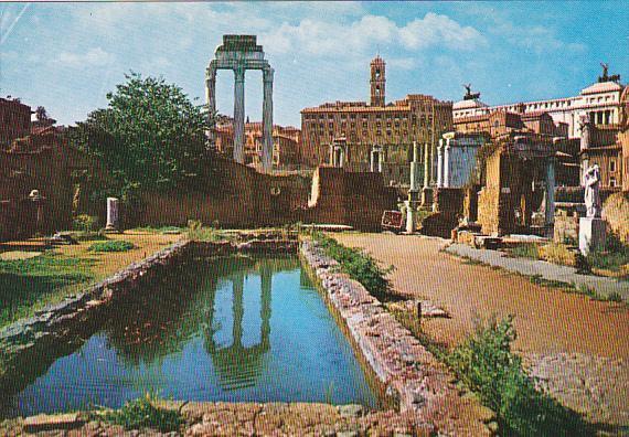 Italy Roma Rome Foro Romano