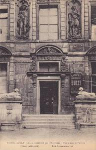 Hotel Sully (1624), Construit Par Ducerceau- Fontaines Et Perrou, France, 190...
