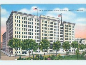 Unused Linen BUILDING Topeka Kansas KS hn9037