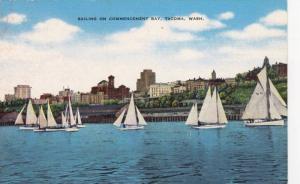 Sailing on Commencement Bay, Tacoma,  Washington, 30-40s