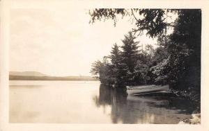 Owls Head Maine Scenic View Canoes Real Photo Antique Postcard J67763