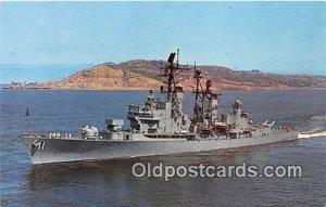 USS Mahan DLG11 Guided Missile Frigate Unused