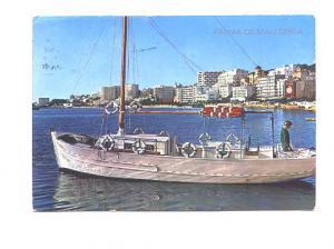 Sailboat,  Palma de Mallorca, Spain