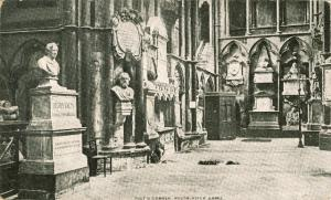 Westminster Abbey Interior Poets Corner UDB
