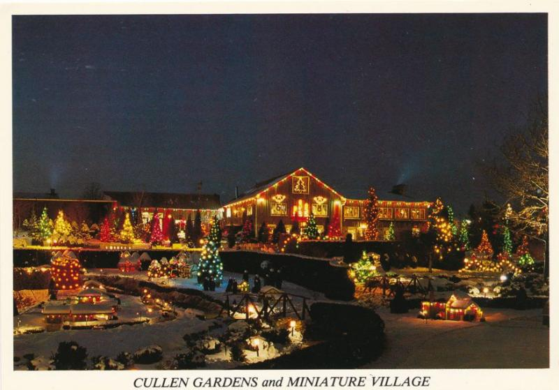 Cullen Gardens and Miniature Christmas Village - Whitby, Ontario, Canada