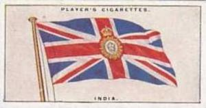 Players Vintage Cigarette Card Flags League Of Nations No 25 india  1928