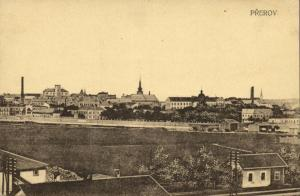 czech, PŘEROV PRERAU, Olomouc, Panorama (1920s)