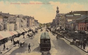 GREENVILLE , Ohio , 00-10s ; Broadway , Looking South