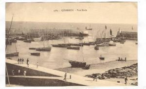Lighthouse & harbor entrance, Port Maria, Quiberon (Morbihan), France, 1900-1...