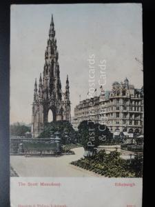 Edinburgh: The Scott Monument c1904 Pub by MacNiven & Wallace