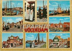 Modern Postcards Groeten uit Volendam