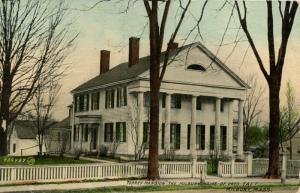 MA - Milbury. Torrey Mansion, Home of President Taft