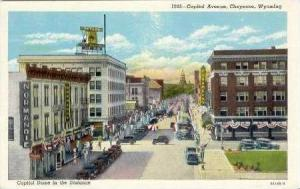 Capitol Avenue, Cheyenne, Wyoming, 1930-1940s