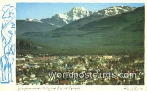 Canada Jasper Mount Edith Cavell