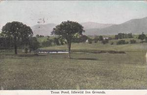 Trout Pond, Idlewild Inn Grounds, Connecticut, PU-1916