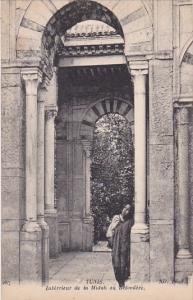 Tunisia Tunis Interieur de la Midah au Belvedere