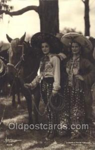 Charray China Poblana, Mexico Native Costume Postcard Postcards  Charray Chin...