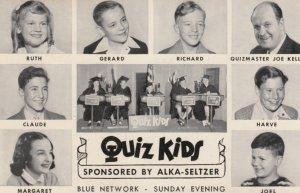 5 PCs ; CHICAGO , Illinois , 40-50s ; QUIZ KIDS show