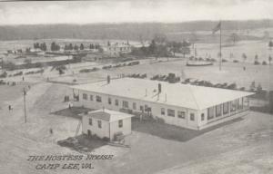 CAMP LEE, Virginia, 1910-20s; The Hostess House