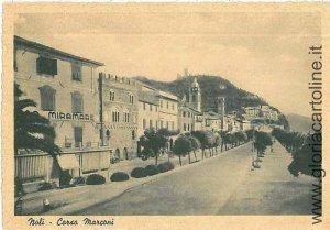01999  CARTOLINA d'Epoca: SAVONA - NOLI