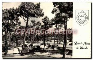 Postcard Old Saint Jean De Monts camping